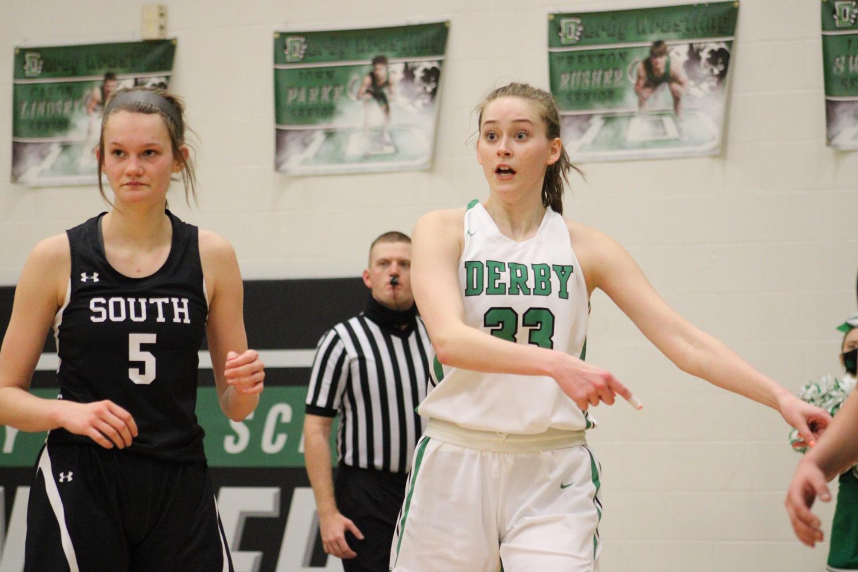 Varsity+Girls+Basketball+vs+Maize+South+%28Photos+by+Joselyn+Steele%29