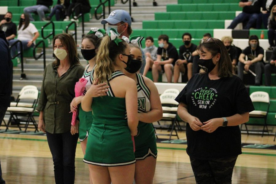 Basketball Senior Night (Photos by Joselyn Steele)
