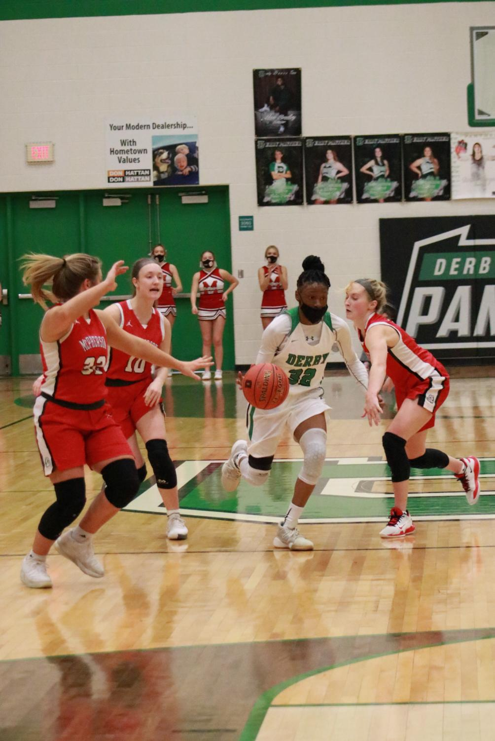 Girls+Varsity+against+McPherson+at+home+%28photo+by+Hailey+Jeffery%29