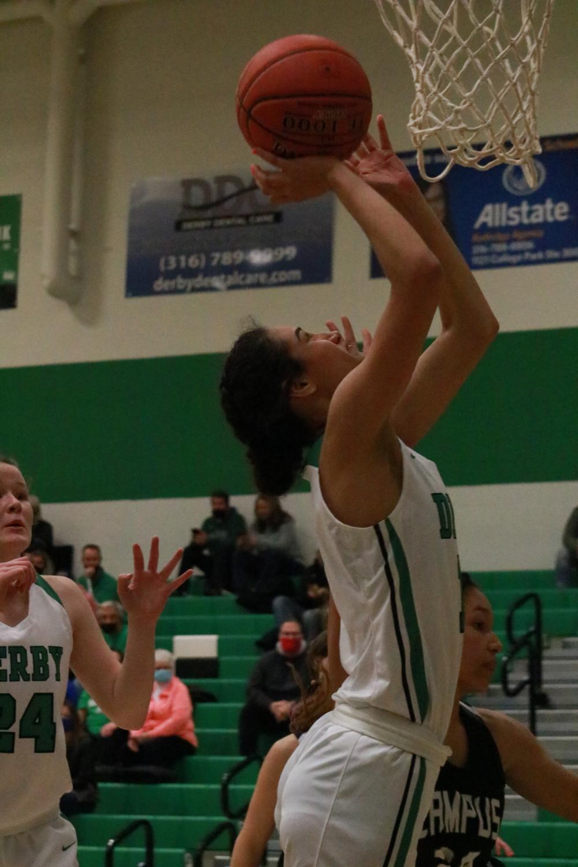 Girls+Varsity+Basketball+against+Campus+%28photos+by+Hailey+Jeffery%29