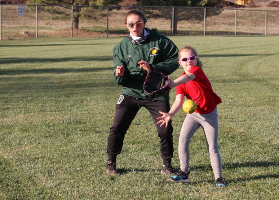 Softball Kids Camp (photos by Hailey Jeffery)