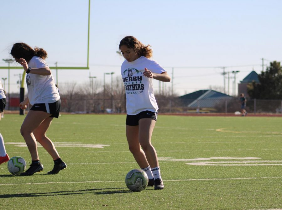 Girls Soccer Tryouts 3/2/21 (Photos by Joselyn Steele)