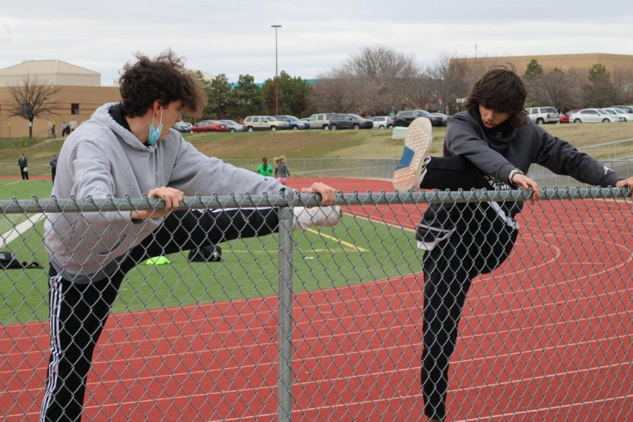 Track Practice 3/24/21 (Photos by Joselyn Steele)