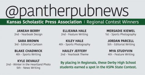 Ten Panther Publications students qualify for state