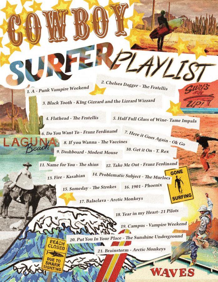 Cowboy Surfer Playlist