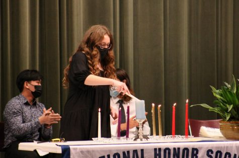 National Honors Society Induction (photos by Hailey Jeffery)