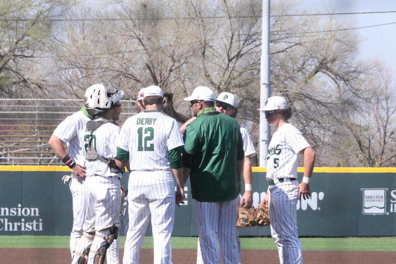 Varsity+Baseball+v.+Bishop+Carroll+%28Photos+by+Mersadie+Kiewel%29