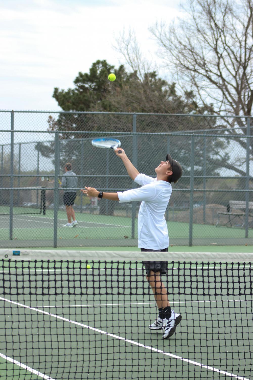 Varsity+Boys+Tennis+at+Home+4%2F15+%28Photos+by+Kiley+Hale%29