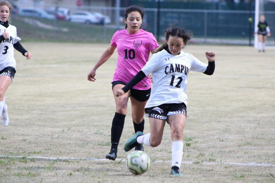 Varsity Girls Soccer v. Campus (Photos by Zara Thomas)