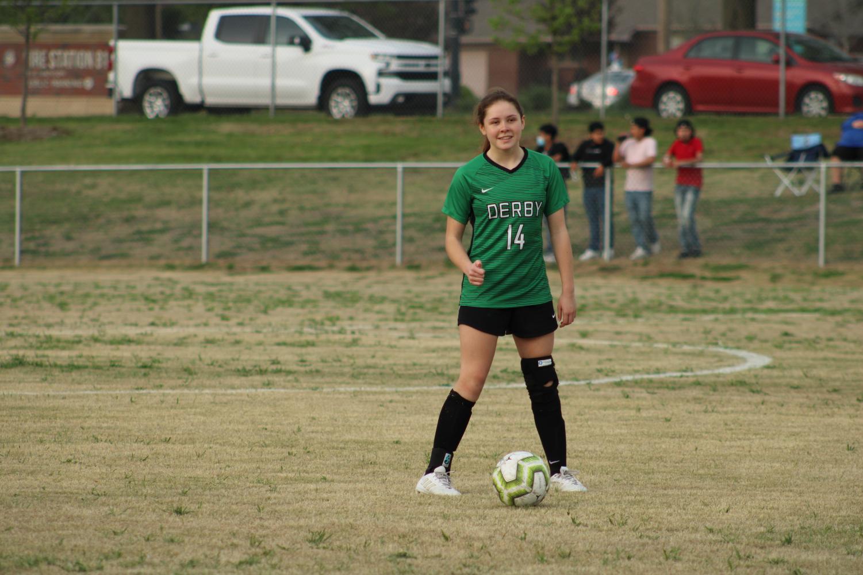 Varsity+Girls+Soccer+vs+Newton+%28Photos+by+Joselyn+Steele%29