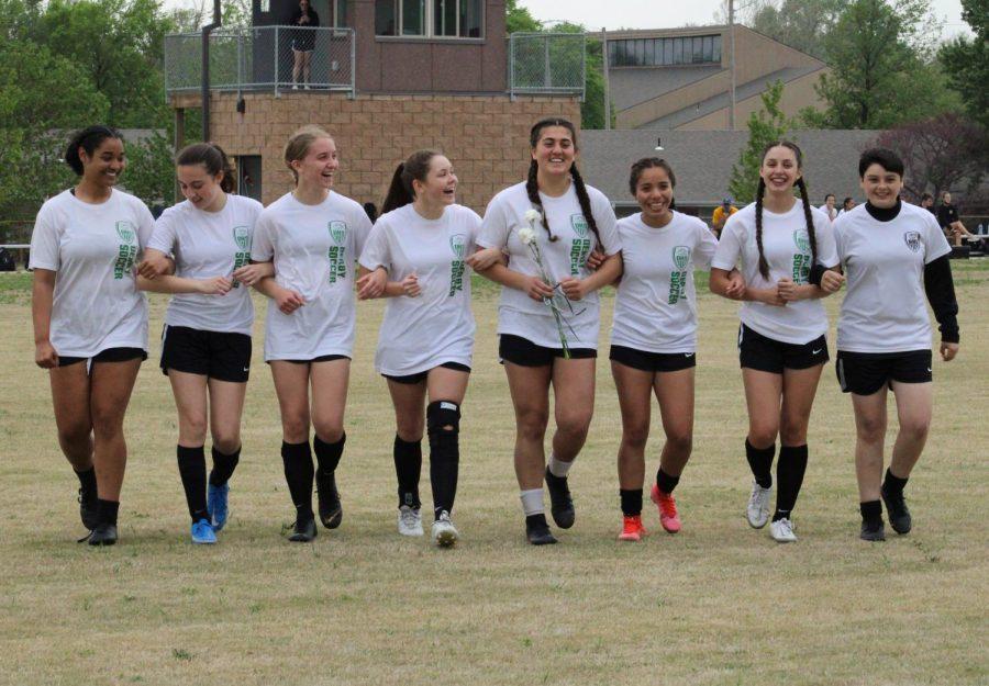 Girls Soccer Senior Night (Photos by Joselyn Steele)