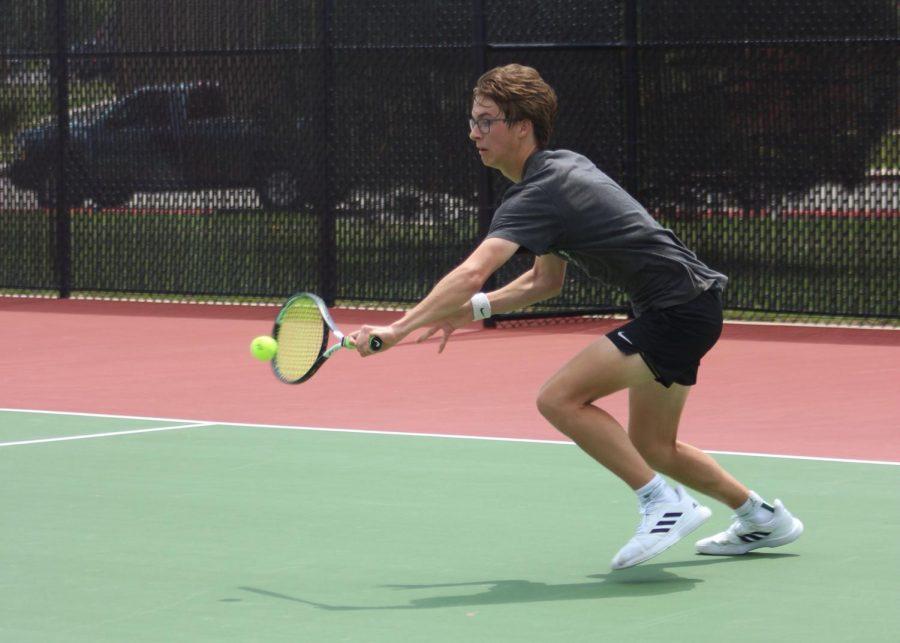Boys Tennis Varsity League 5/3 (Photos by Kiley Hale)