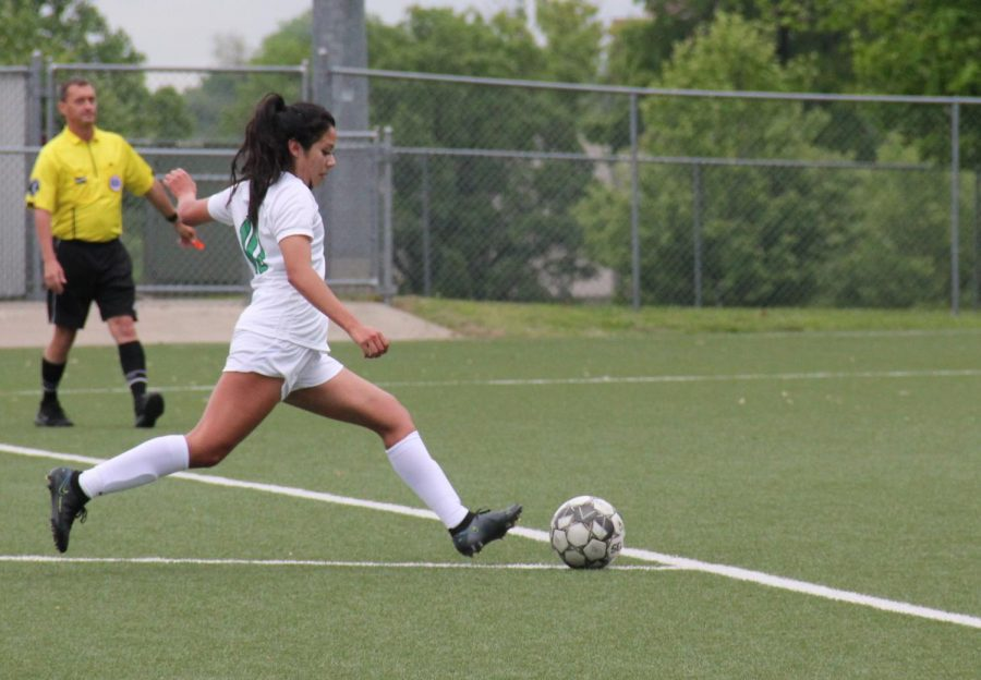 Varsity Girls Soccer Regionals Vs. Topeka (Photos by Natalie Wilson)