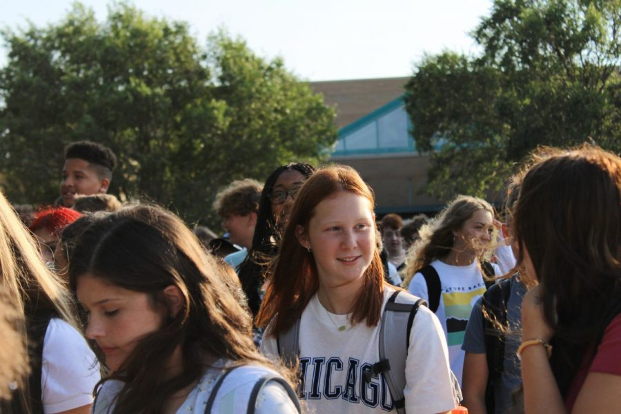 Freshman First Day (Photos by Joselyn Steele)
