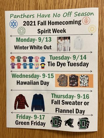 Homecoming Spirit Week: Get ready to party