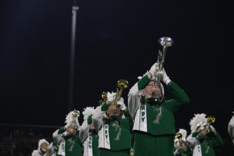 Homecoming Game (Marching Band) Photos by Haley Waughtal