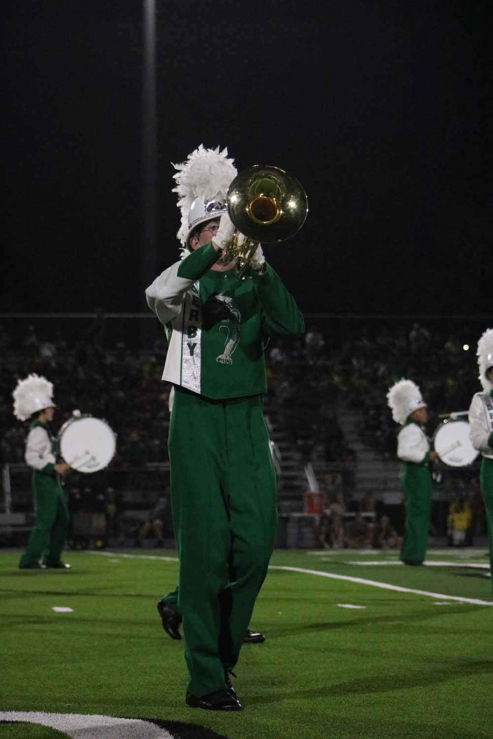 Homecoming+Game+%28Marching+Band%29+Photos+by+Haley+Waughtal