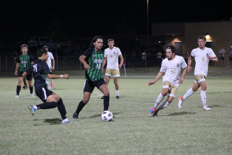 Soccer Game Against Maize South (Photos by Laurisa Rooney)