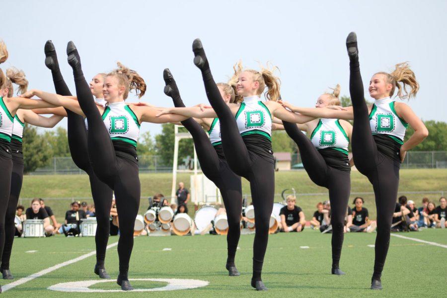 Pep Assembly Dancers 9/10/21 (Photos by Josie Nussbaum)