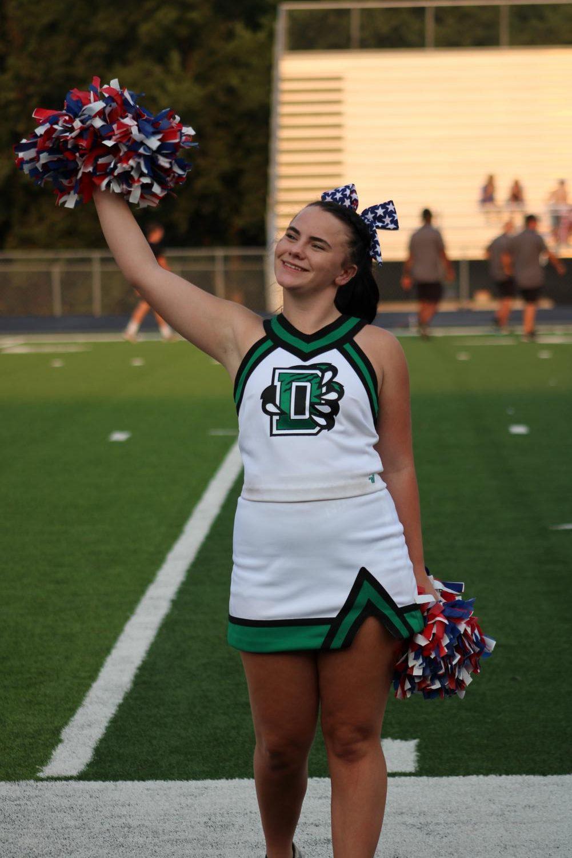 Varsity+and+JV+Cheer+at+Football+9%2F10%2F11+%28Photos+by+Josie+Nussbaum%29
