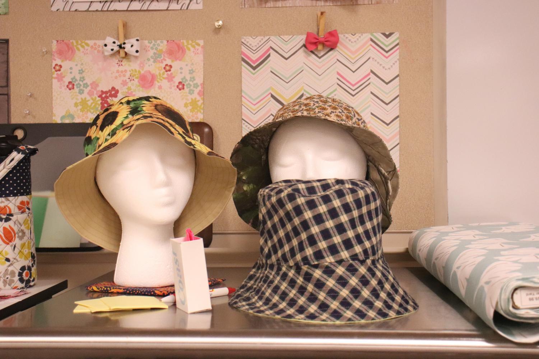 Fashion+Trends+class+sews+bucket+hats+%28Photos+by+Alyssa+Lai%29