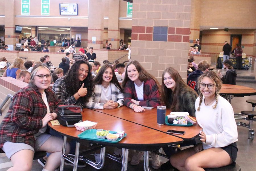 Flannel and sweater day (photos by Shelby Pronk)