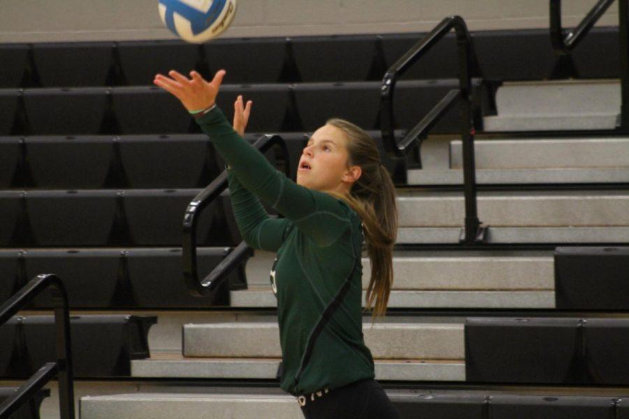 JR. Varsity Volleyball at Newton (Photos by Lolaina Gutierrez)