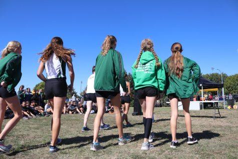 Varsity XC girls win League (Photos by Vy Nguyen)