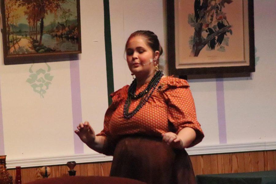 Drama club does dress rehearsal 10/19 (Photos by Jewel Hardin)