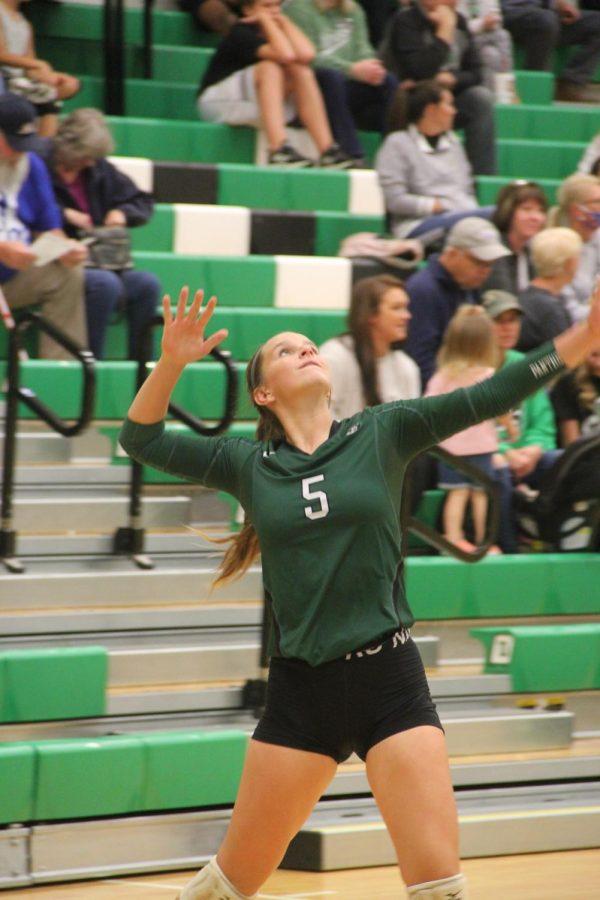 JV Volleyball vs. Maize (Photos by Natalie Wilson)